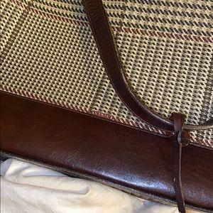 Ralph Lauren Bags - RALPH LAUREN vintage houndstooth shoulder bag
